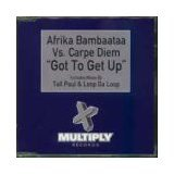 afrika bambaataa vs. carpe diem - got to get up CD single 1998 multiply 3 tracks mint