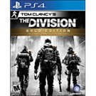 PS4 - tom clancy's the division - gold edition 2016 ubisoft Mature 17+ used