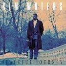 kim waters - peaceful journey CD 1993 warlock records 10 tracks used mint
