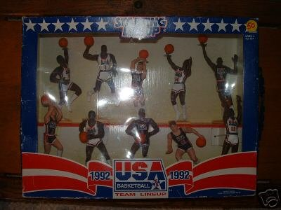 USA 1992 Dream TEAM Starting Lineups-NIB