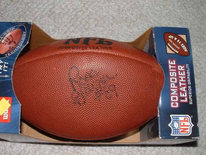 Ross Browner Notre Dame AUTOGRAPH Football-NIB
