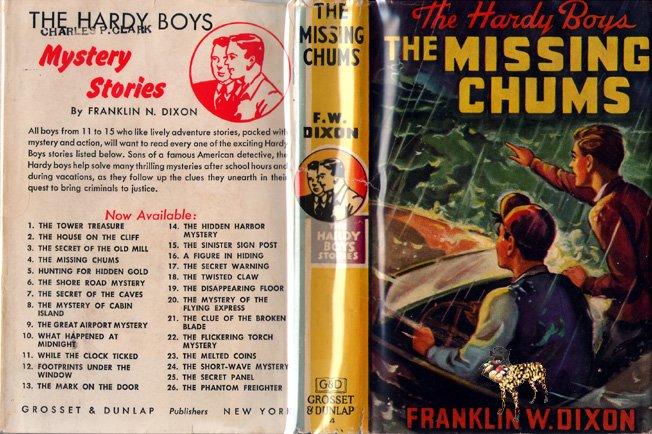F W Dixon Hardy Boys # 4 The Missing Chums HB/DJ
