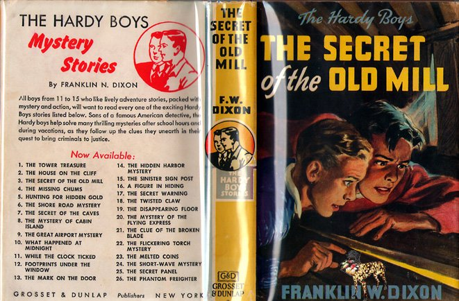F W Dixon Hardy Boys # 3 The Secret of the Old Mill  HB/DJ