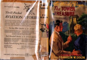 F W Dixon Hardy Boys # 1 The Tower Treasure  HB/DJ