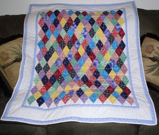 Grandmother's Diamond Quilt Kit