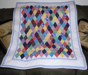 Grandmother's Diamond Quilt Kit