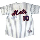 Endy Chavez Autographed Replica NY Mets Home Pinstripe Jersey