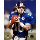 Eli Manning Autographed Close Up 8x10 Photograph