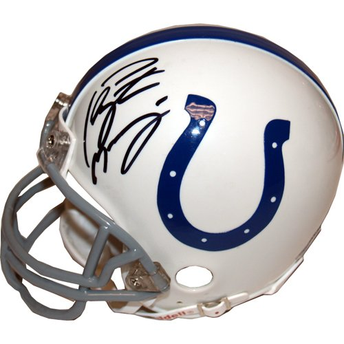 Peyton Manning Autographed Colts Replica Mini Helmet
