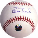 Barry Bonds Hand Signed Baseball