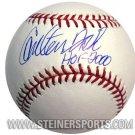 """Carlton Fisk Hand Signed """"HOF 2000"""" MLB Baseball"""