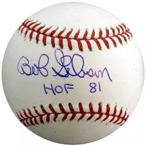 Bob Gibson Autographed HOF Baseball