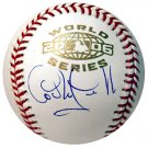 Carlos Guillen Autographed 2006 World Series Baseball