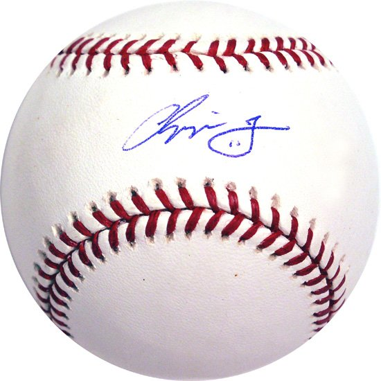 Chipper Jones Hand Signed Baseball