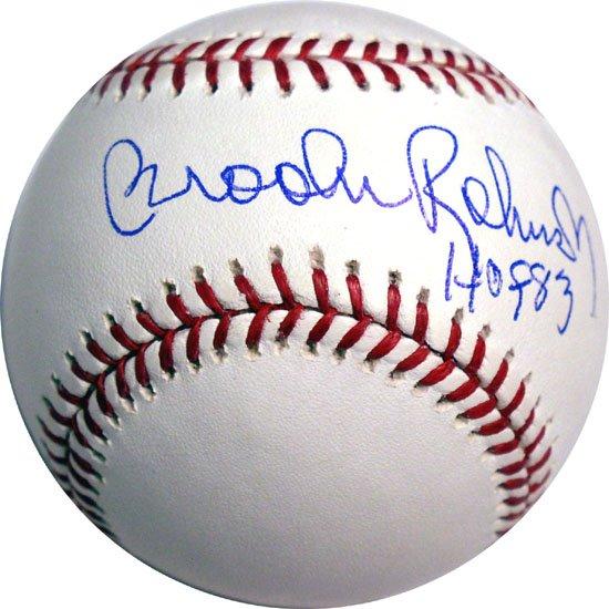 Brooks Robinson Hand Signed HOF Baseball