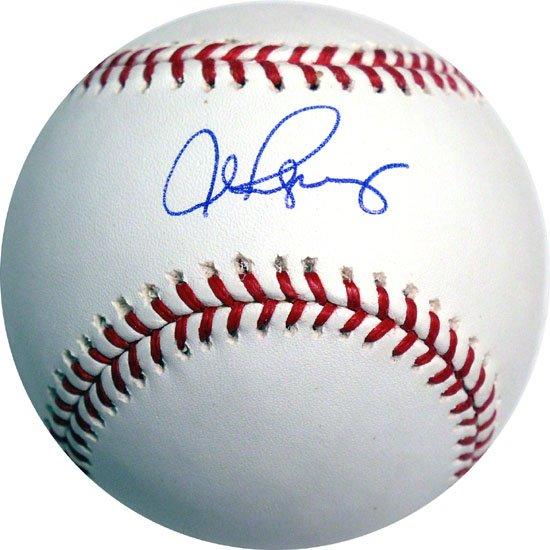 Alex Rodriguez Hand signed Baseball