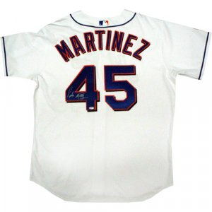 Pedro Martinez Autographed On Number NY Mets Authentic Home White Jersey