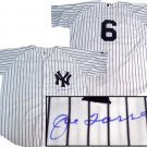 Joe Torre Hand Signed Yankees Home Jersey