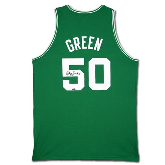 Gerald Green Autographed Boston Celtics Away/Green Jersey (UDA)