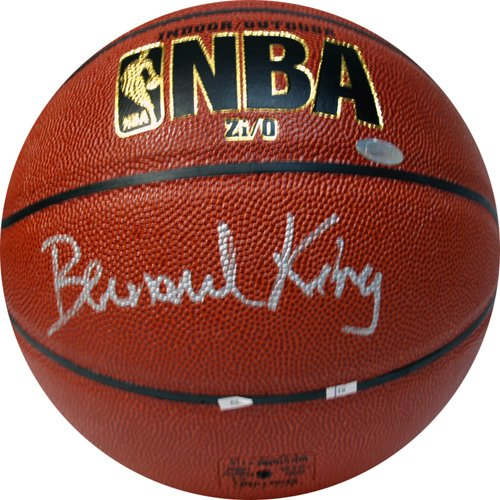 Bernard King Autographed Basketball