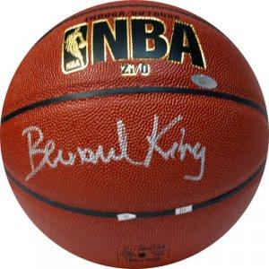 Bernard King Autographed Basketball