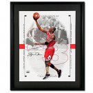 Michael Jordan Autographed Chicago Bulls -1998-99 SP Authentic- Blow-Up 16x20 Photo - Framed (UDA)