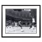 Michael Jordan Autographed University of North Carolina -17 Second Shot- 16x20 Photo - Framed (UDA)