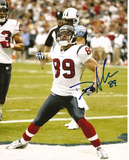David Anderson Signed 8x10 Photo Houston Texans