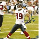 David Anderson Signed 8x10 Photo Houston Texans