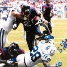Steve Slaton Signed 16x20 Photo