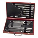 Deluxe Chef's Knives with Case