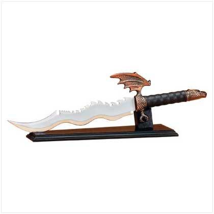 Dragon Sword with Display