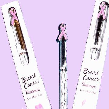 Pink Ribbon Ink Pen
