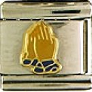 Praying Hands Italian Charm
