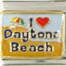 I Heart Daytona Beach Italian Charm