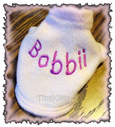ANY COLOR/FONT Personalized Dog Coat Sweater XXXS-XXS-XS-S-M