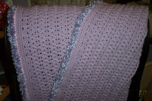 Lilac Baby Blanket