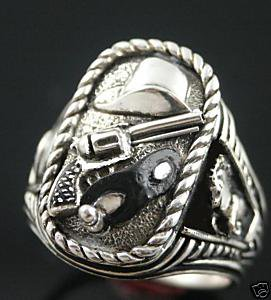 Clayton Moore Last Texas Rangers Silver Bullet tribute sterling silver