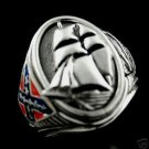 Southern States' Raider Alabama Commemorative naval Ring    Sterling Silver