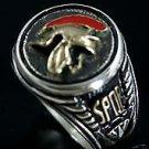 Roman Legionaire Mens Signet ring    Sterling Silver