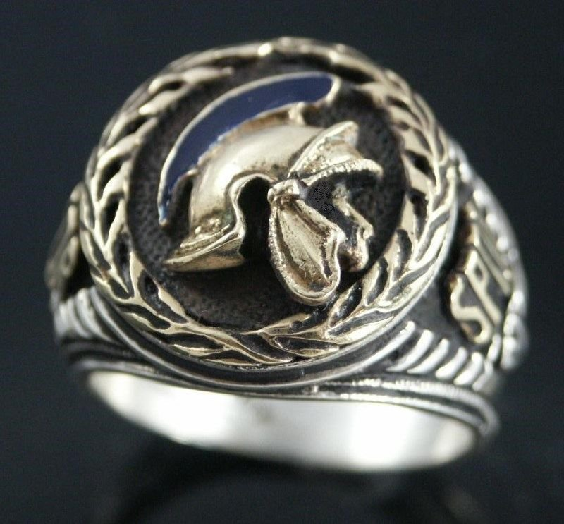 Roman Pro Counsel SPQR Ring sterling silver