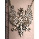 Polish Eagle Pendant          Sterling Silver Large