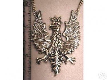 Polish Eagle Pendant          Sterling Silver Large