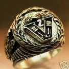 Commemorative V Twin American Iron MC Silver Ring