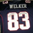 WES WELKER Blue Home Patriots authentic NFL jersey 50 L