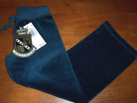 Juicy Couture NWT Girls Velour Pants size 4