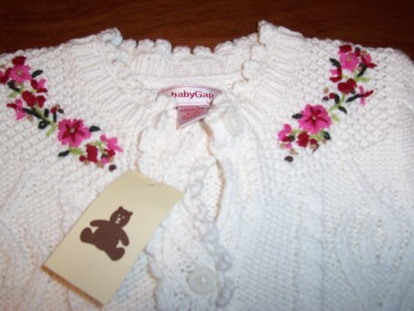 GAP Infant Girls NWT One-piece Sweater Size 6-12 Months