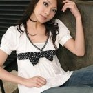 White Bowed Top
