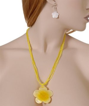 Code#NL-9846: FLOWER NECKLACE