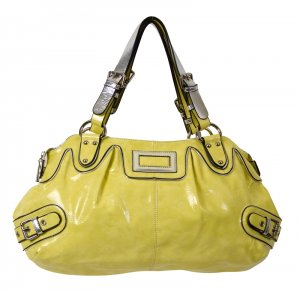 PVC SHOULDER HANDBAG